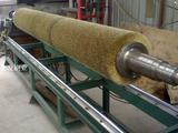 大型铜丝弹簧辊刷